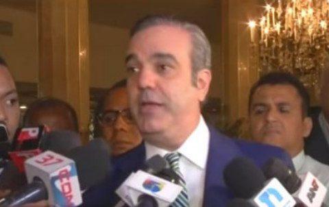 Luis Abinader dice gobierno no tiene plan concreto para enfrentar la corrupción