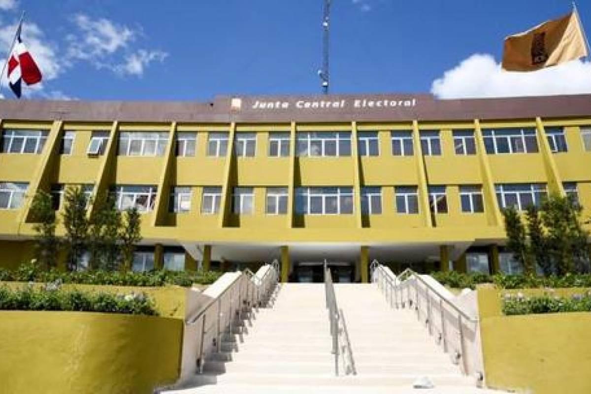 Fachada de la Junta Central Electoral (JCE)