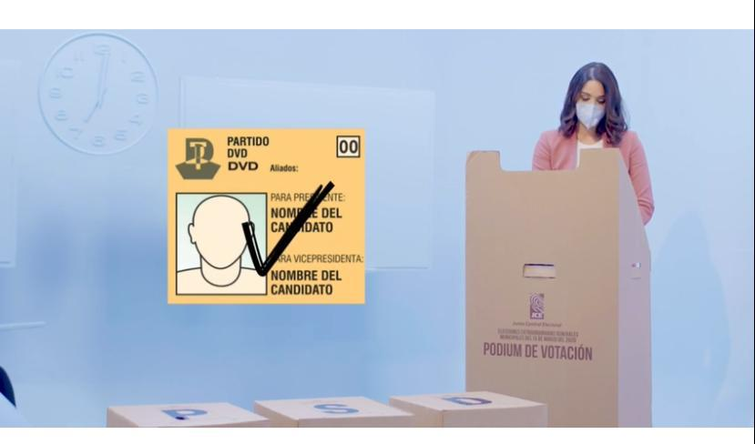 "JCE inicia campaña educativa ""Ponte tu mascarilla y vota"" para las ..."