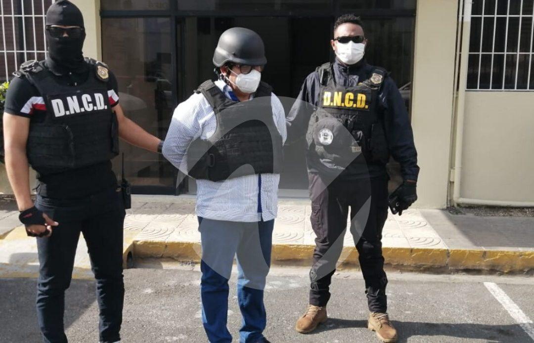Momento en que Yamil Abreu Navarro es trasladado. Foto Franklin Guerrero
