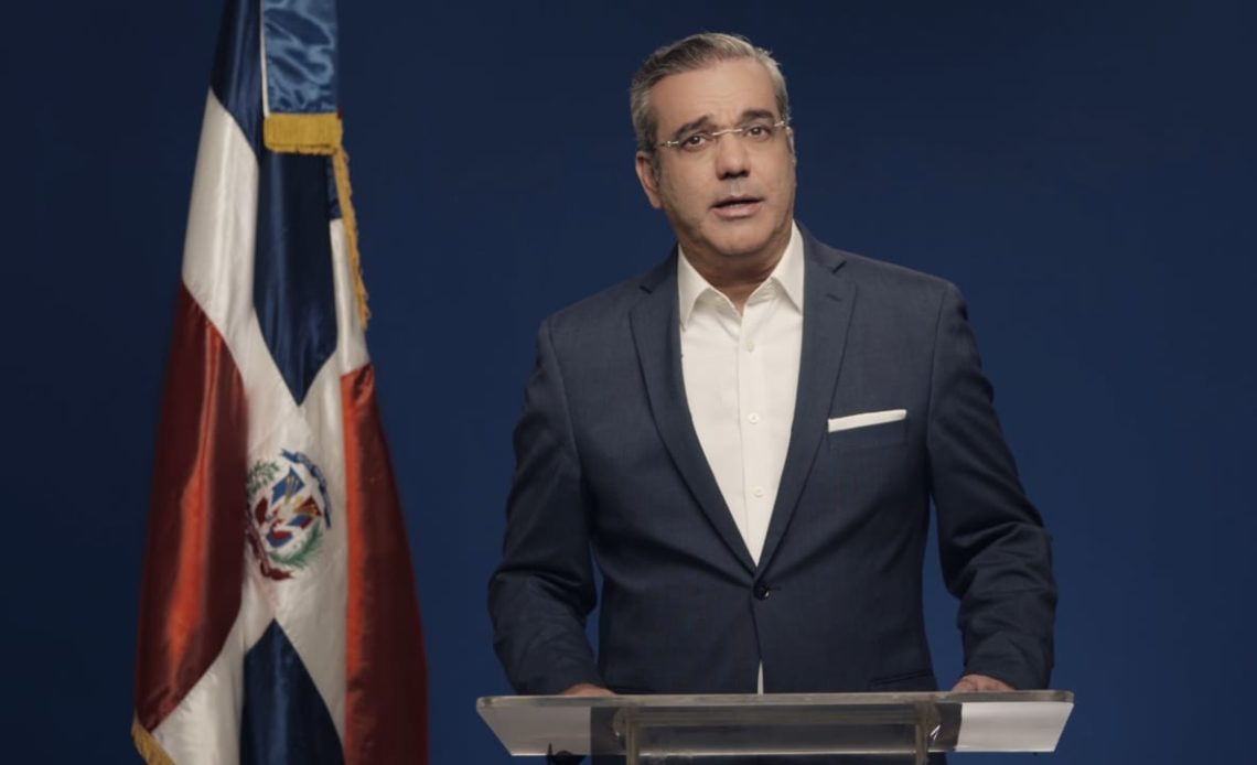 Luis Abinader, presidente electo de la República.