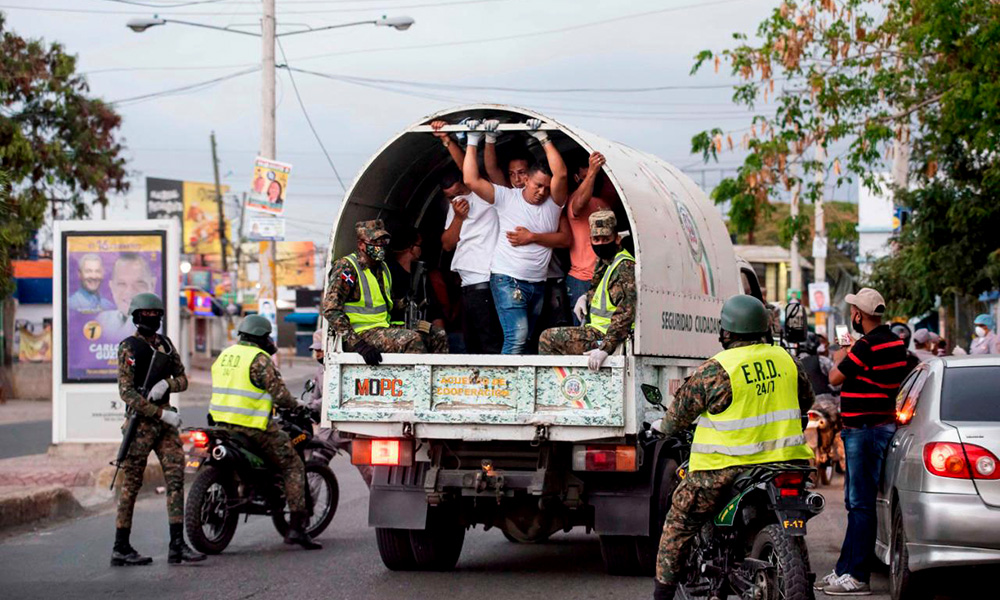 PN apresa 560 personas en jornada del toque de queda - N Digital