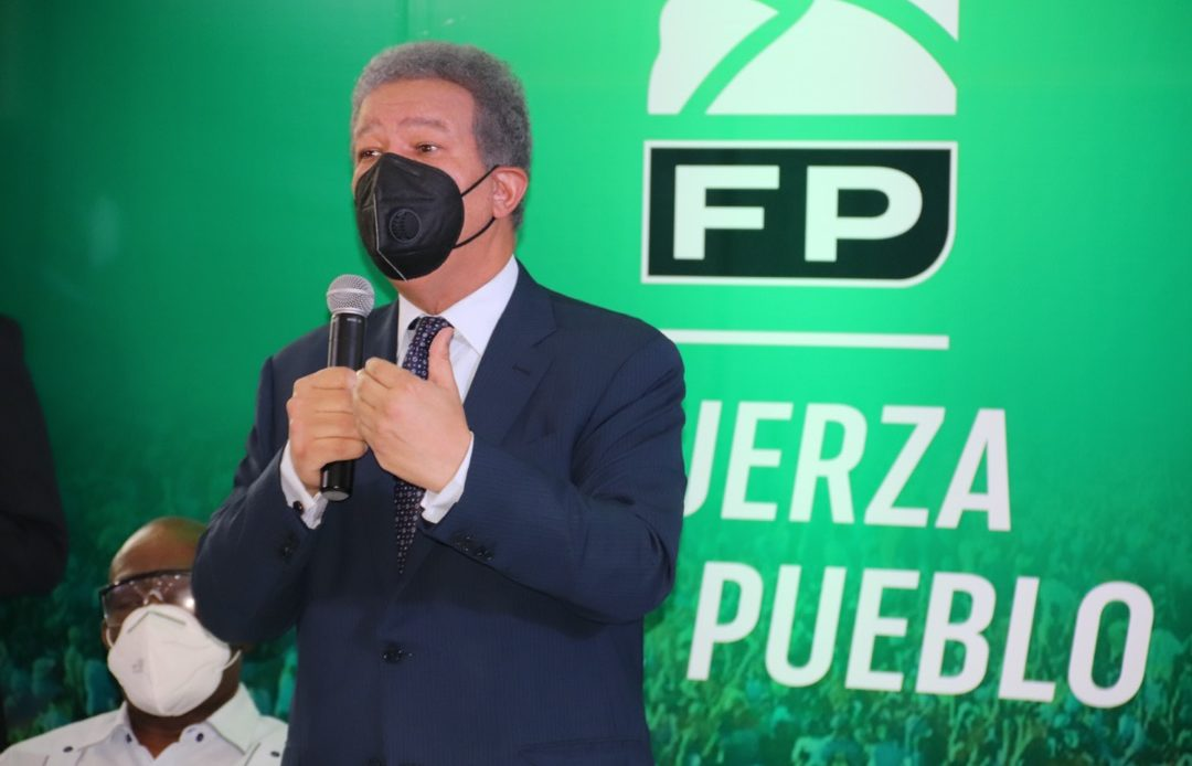 Leonel Fernandez, presidente de la Fuerza del Pueblo.
