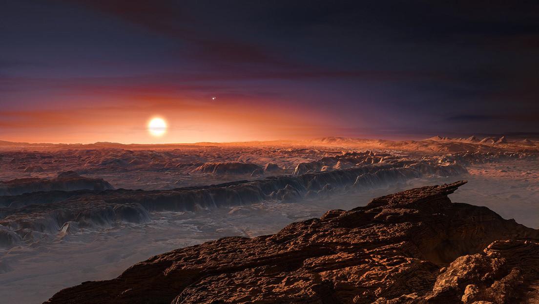 Visión artística del planeta Proxima b.