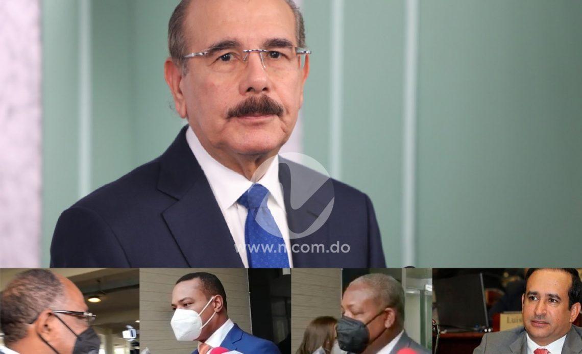 Diputados salen en defensa de Danilo luego de que Víctor Suárez lo llamara dictador
