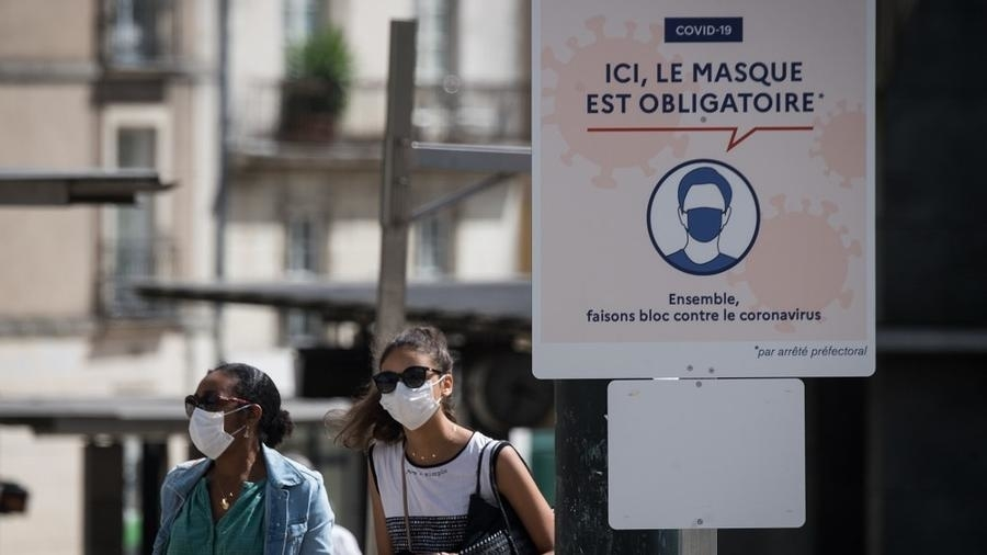 Francia, Coronavirus.