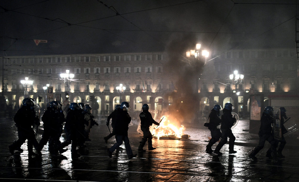 ITALIA-PROTESTAS