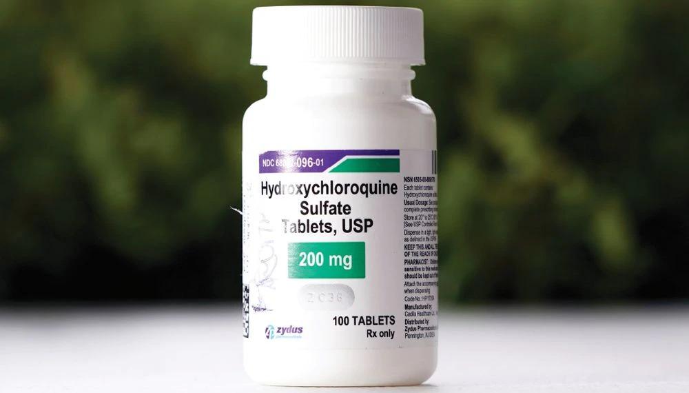 Envase de la hidroxicloroquina