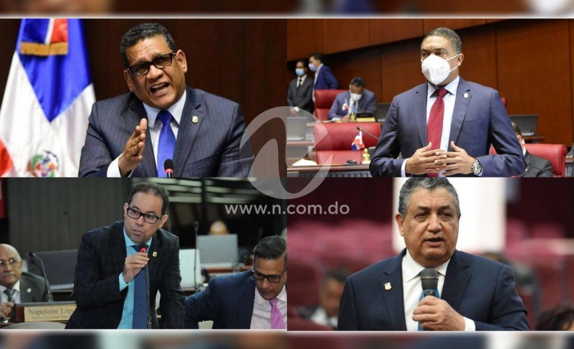 Legisladores opinan sobre apresamientos a exfuncionarios