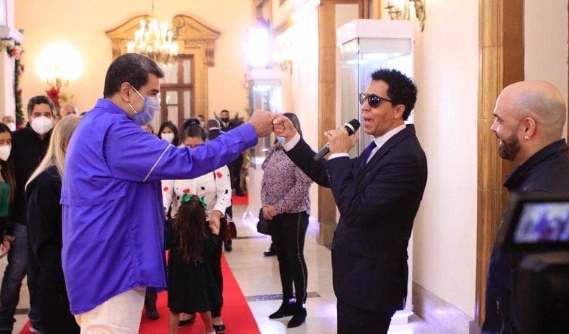 Nicolás Maduro y Bonny Cepeda