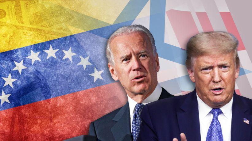 VENEZUELA-BIDEN-TRUMP