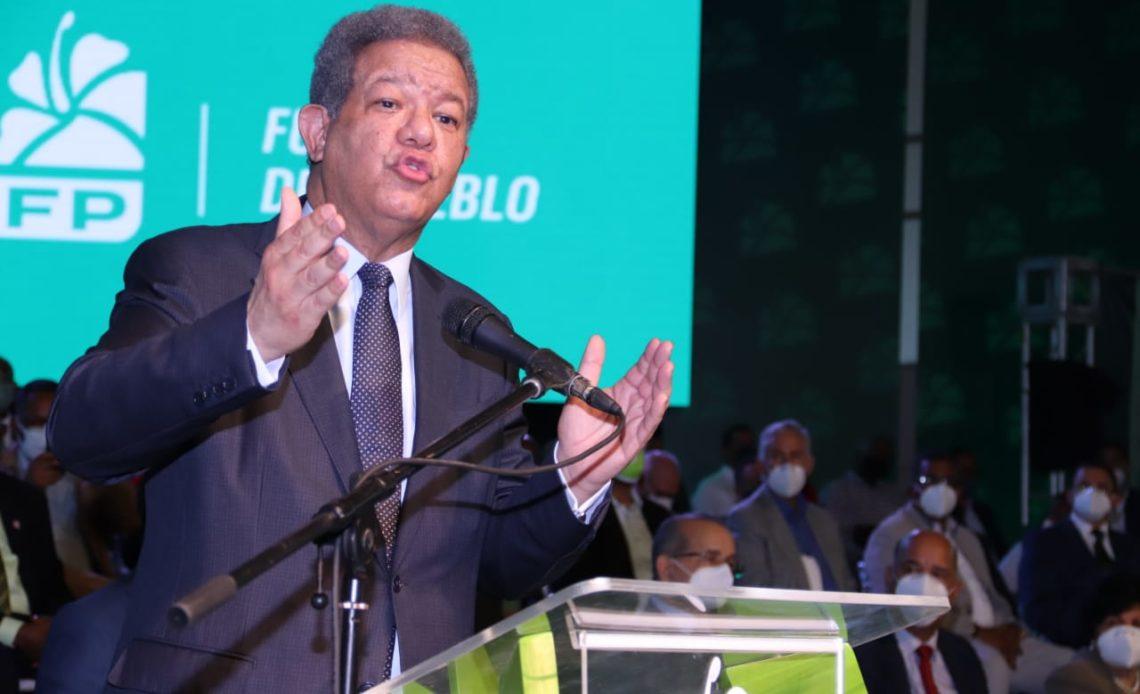 El ex presidente Leonel Fernández