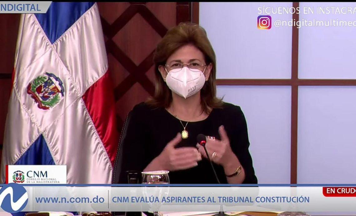 Raquel Peña, vicepresidenta de la República Dominicana