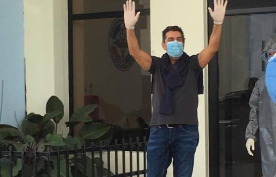 Claudio Pascualini, primer infectado en la RD