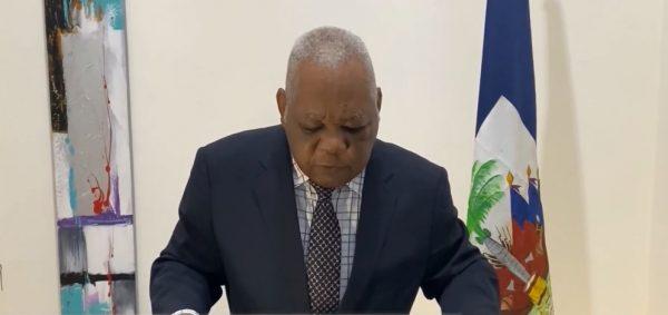 Joseph Mécène Jean Louis, presidente nombrado por la oposición haitiana