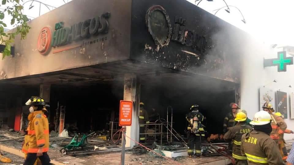 incendio farmacia fallecido.