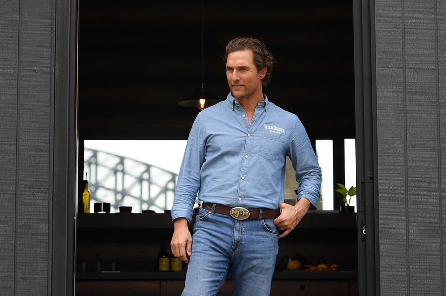 Actor Matthew McConaughey.