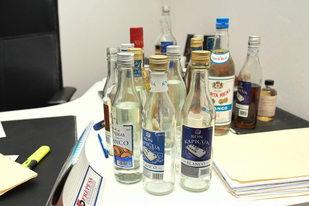 Bebidas adulteradas