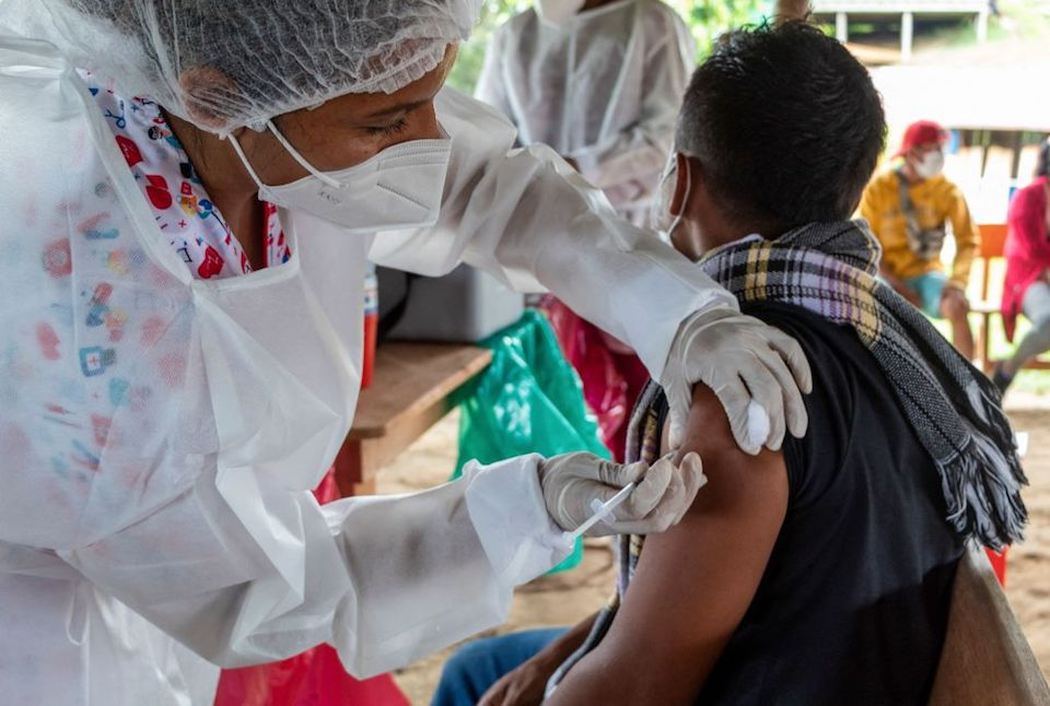 COLOMBIA-HEALTH-VIRUS-VACCINE