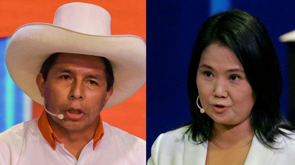 Candidatos presidencia en Perú