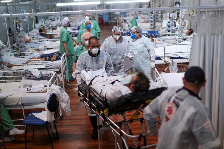 Coronavirus: una de cada cuatro ciudades de Brasil tiene lista de espera para cuidados intensivos
