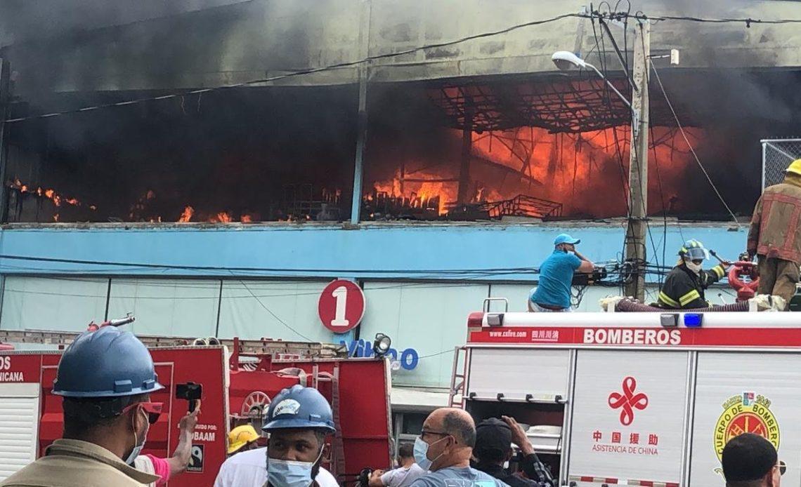 Incendio en la Plaza Yihao, Mao