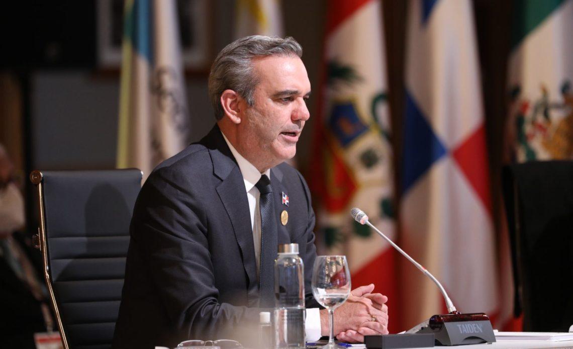 Luis Abinader, presidente de la República Dominicana