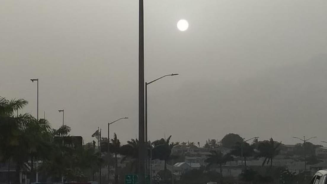 Nube de polvo del Sahara llega a República Dominicana