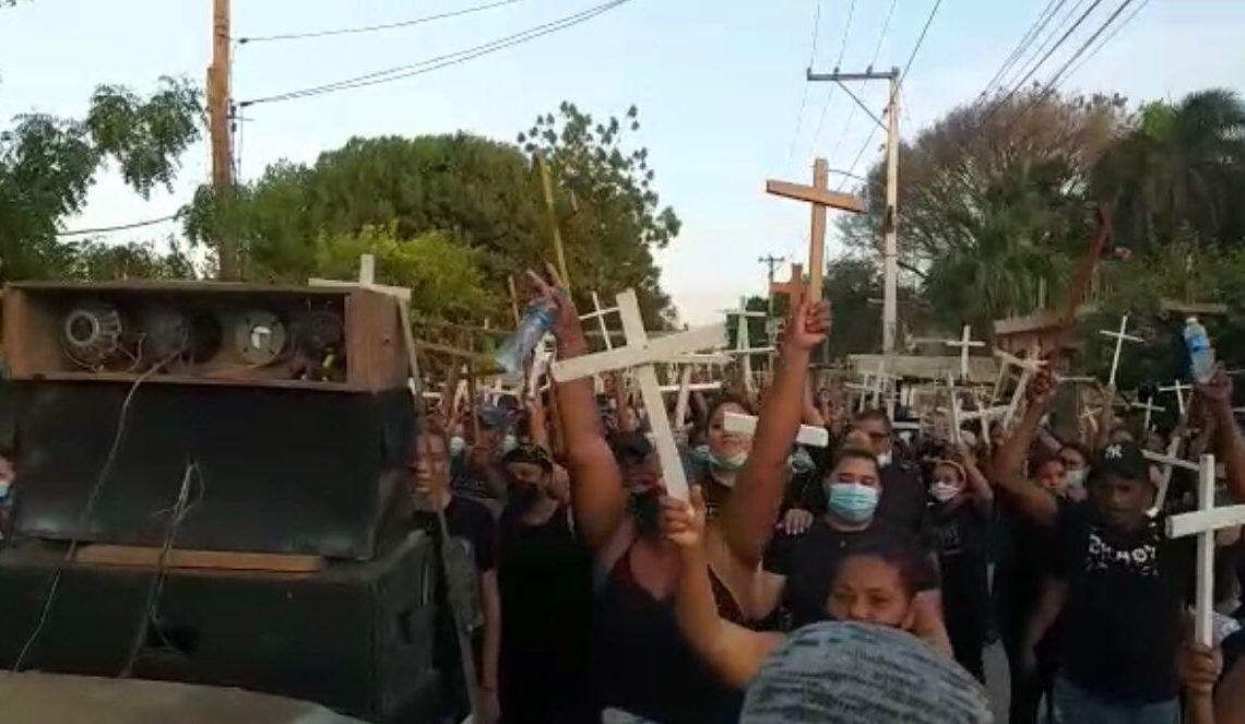 Protestas en Montecristi