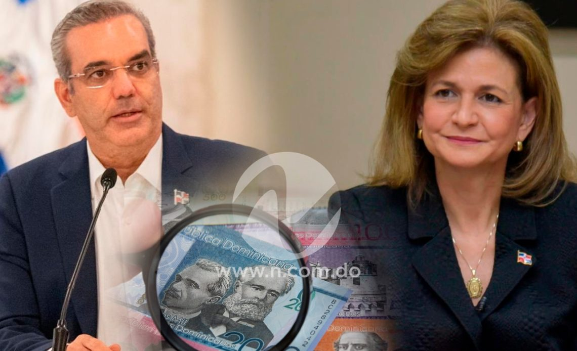 Sueldos superiores a Raquel Peña y Luis Abinader