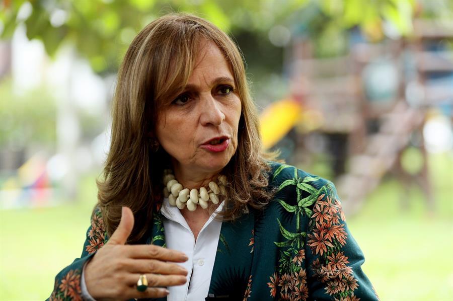 Candidata presidencial, Ángela María Robledo.
