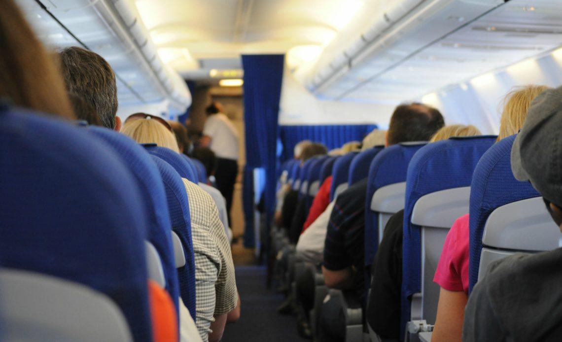 Avión, viaje.