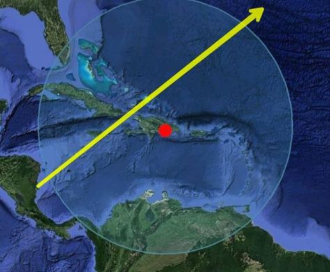 Cohete chino podría pasar sobre el Caribe antes de precipitarse