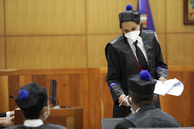 Miembros de la PEPCA en el juzgado