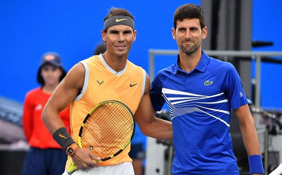 Rafael Nadal y Novak Djkovic