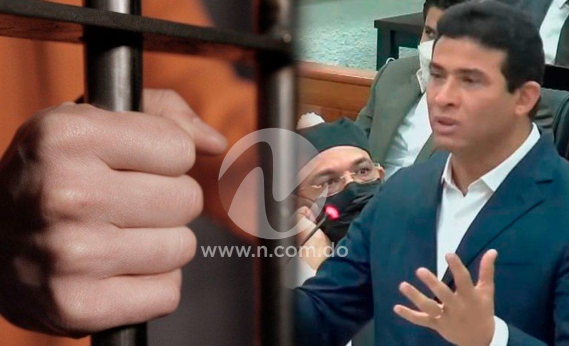 Adán Cáceres y su prisión