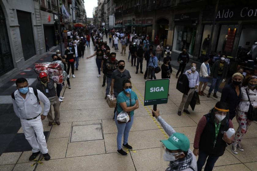 Ciudad de México reduce al mínimo la alerta por covid-19
