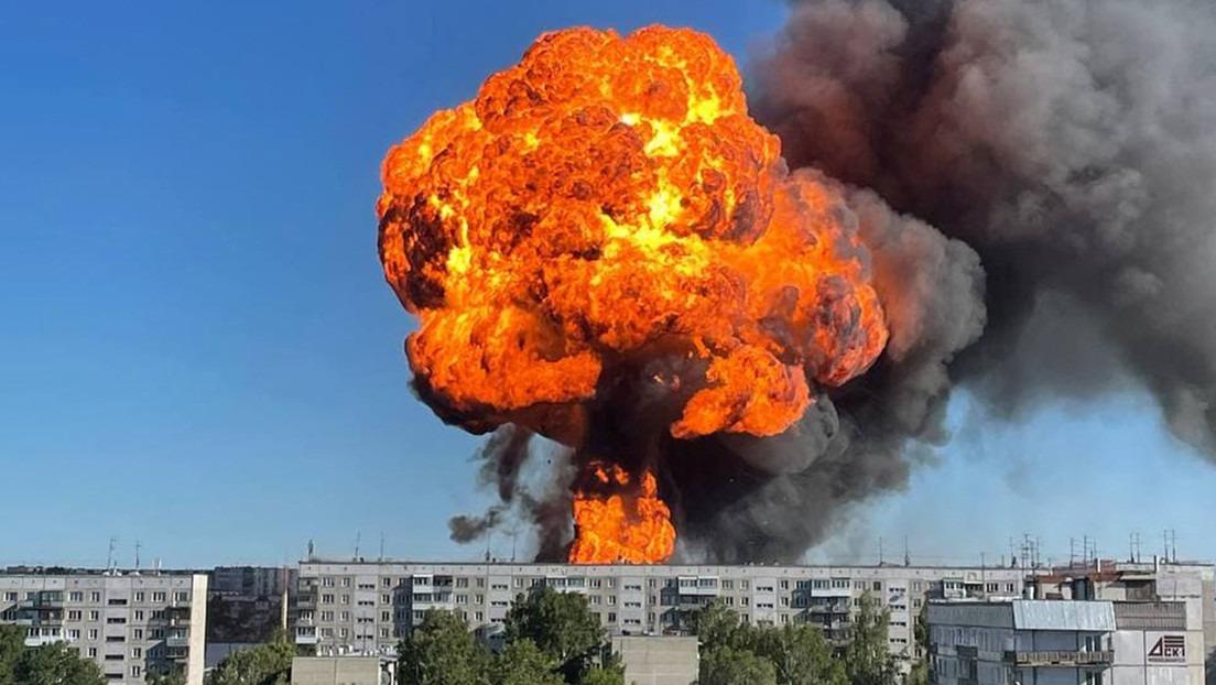 Explosion en Siberia