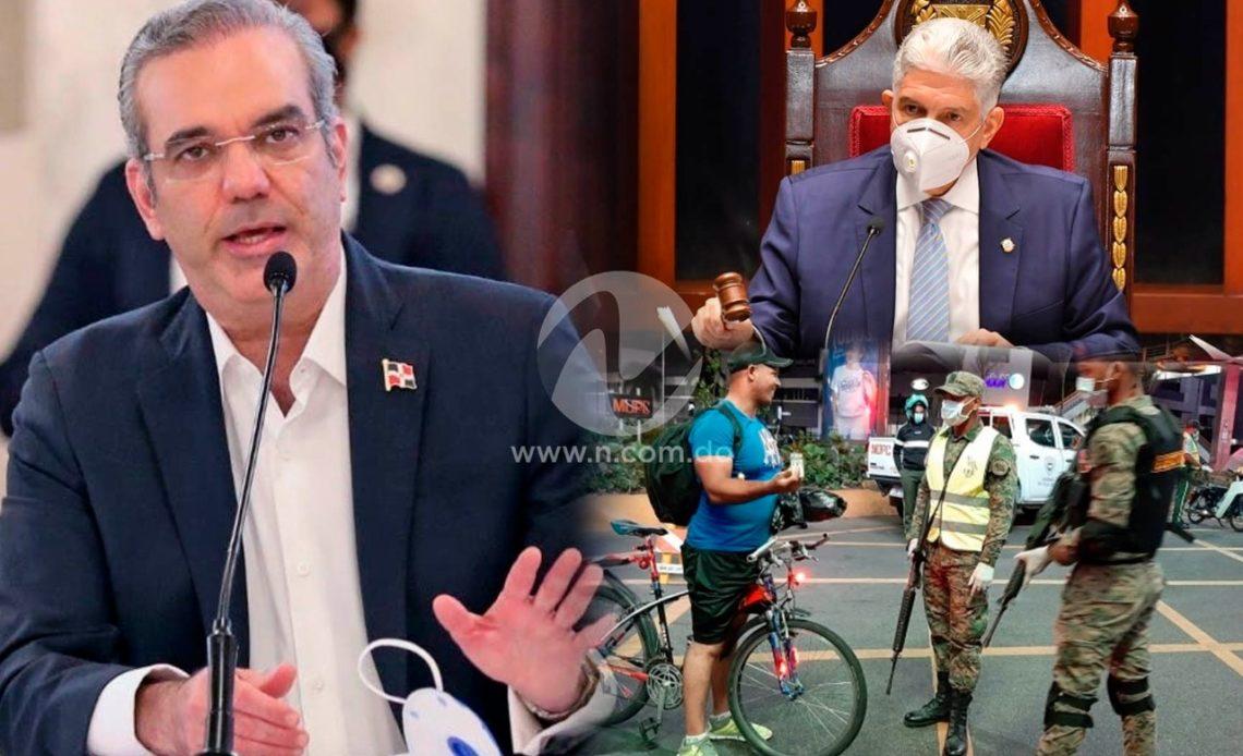 Luis Abinader solicita estado de emergencia