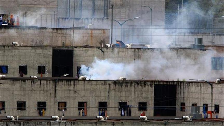 Motin en carcel de Ecuador