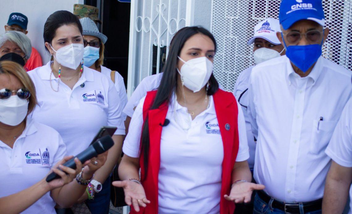 La DIDA apoya jornada de vacunación anticovid en San Juan de la Maguana