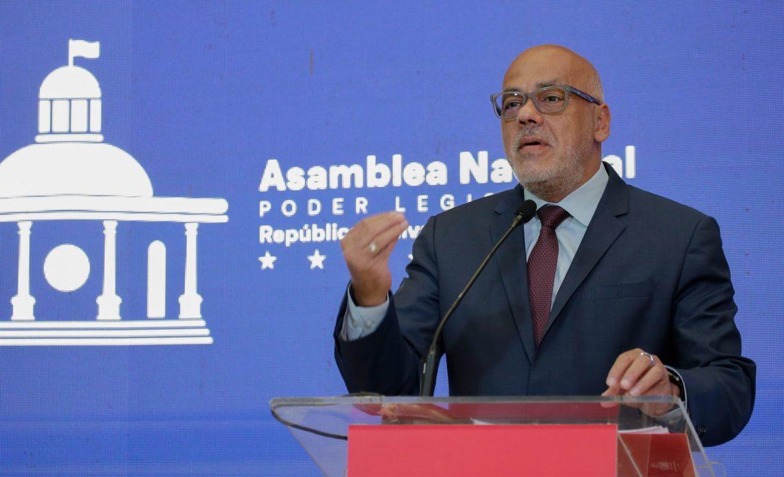 Jorge Rodríguez, presidente del Parlamento de Venezuela