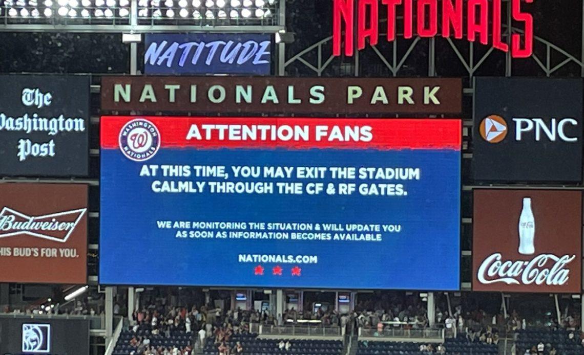 Tiroteo en estadio de béisbol