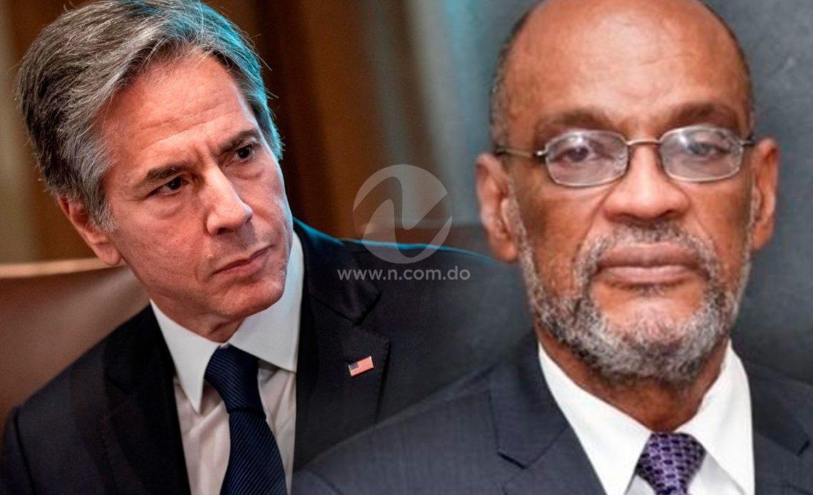 Estados Unidos expresa al primer ministro de Haití la importancia de prontas elecciones