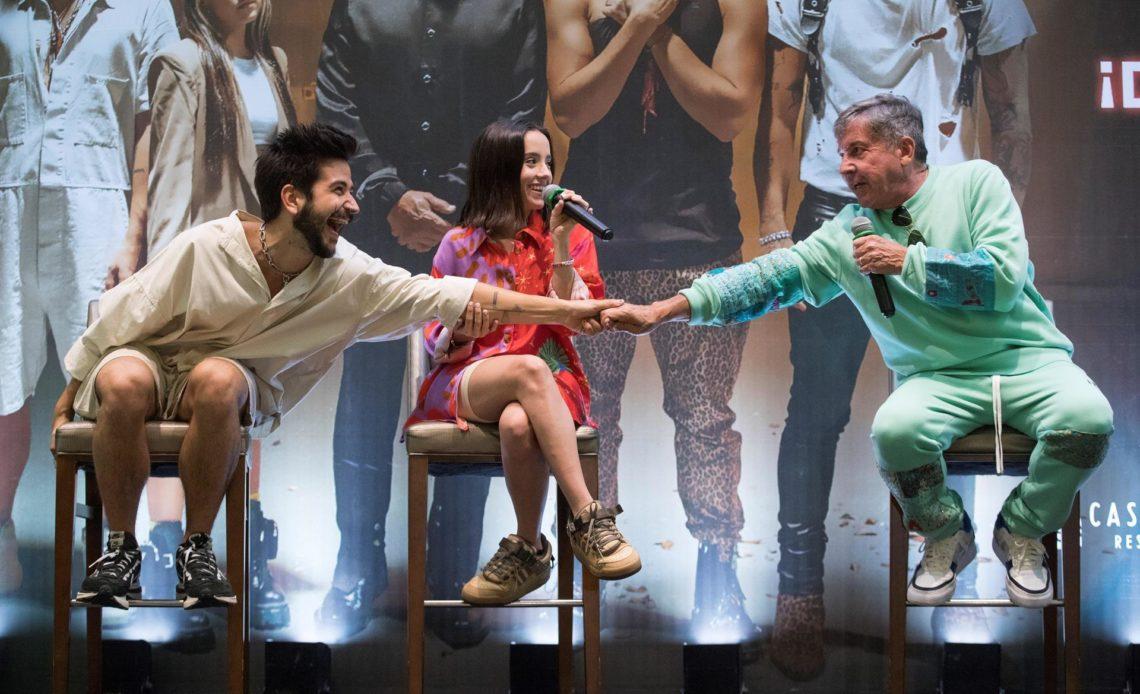 """Ricardo Montaner, Camilo, Evaluna, Mau y Ricky presentan """"Los Montaner"""" en Dominicana"""