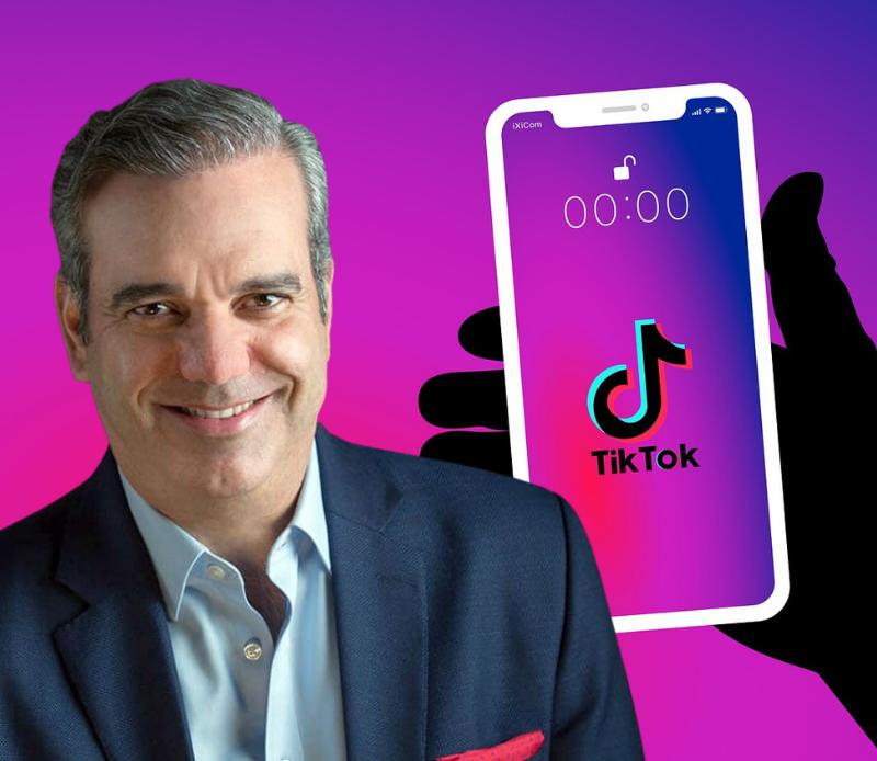 Luis Abinader se estrena en TikTok