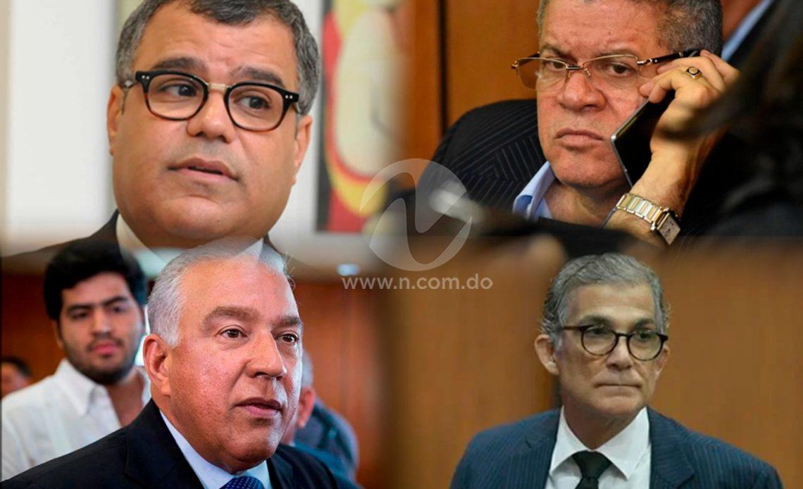 Tribunal ordena cese de medidas de coerción y devolución de bienes a Bautista, Pittaluga, Rodríguez, Galán